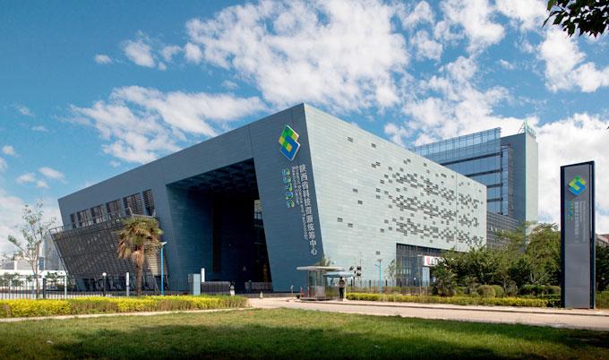 【绿色建筑】经典项目:陕西省科技资源统筹中心