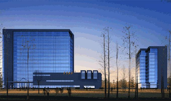 【科研办公】经典项目:国家电网新疆科研办公大楼