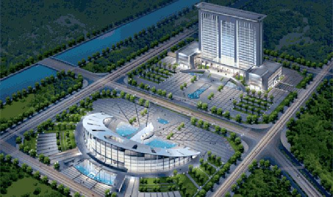 【科研办公】经典项目:商洛市行政中心