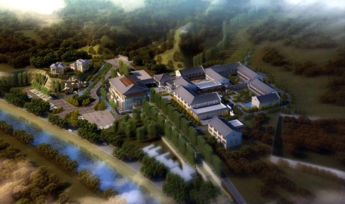 【酒店商业】经典项目:延长集团华阳度假山庄
