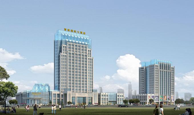 【酒店商业】经典项目:渭南国际大酒店