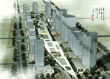 西安高新区CBD步行商业街规划
