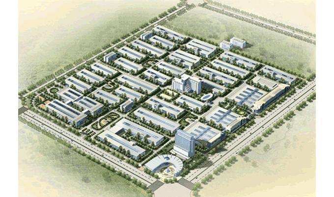 【市政工程】经典项目:西安经济技术开发区泾渭中小工业园区规划