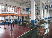 中国标缝集团喷漆生产线