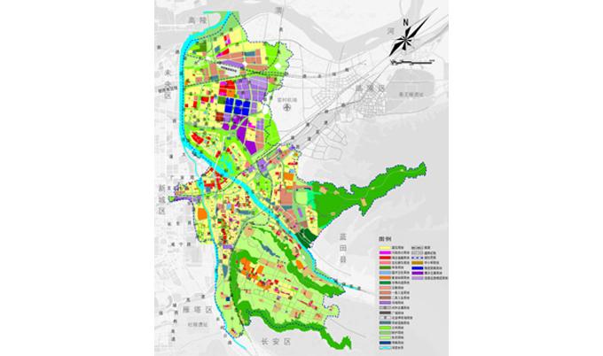 【城乡规划】经典项目:灞桥区统筹城乡发展总体规划