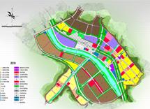 陕西省重点示范镇商洛市沙河子镇总体规划