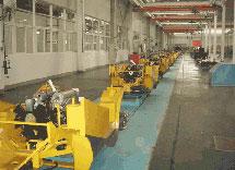 山推股份公司整机喷漆生产线