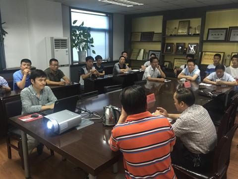华建总公司组织2015年度关于提高专业监理人员识图水平的专项培训