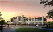 陕西西部国际商贸城营销楼