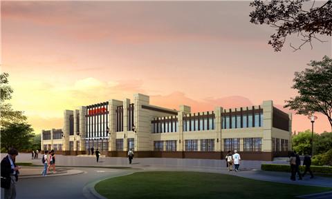 【EPC总包】经典项目:陕西西部国际商贸城营销楼
