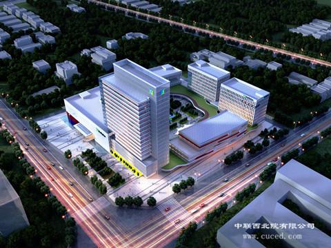 彰显高科技企业形象  助力总部经济建设——我公司华盛二所中标和利时西北总部基地设计项目