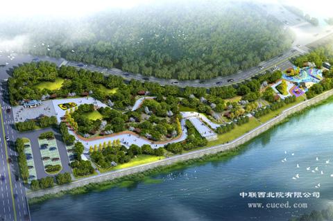 环境工程公司签订灵台县达溪河水环境综合治理项目