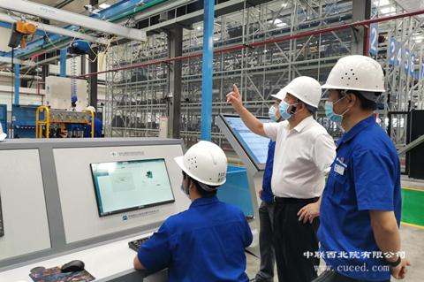 打造数字工厂 助力智能制造——我公司承担的钻机核心部件柔性装配线试运行