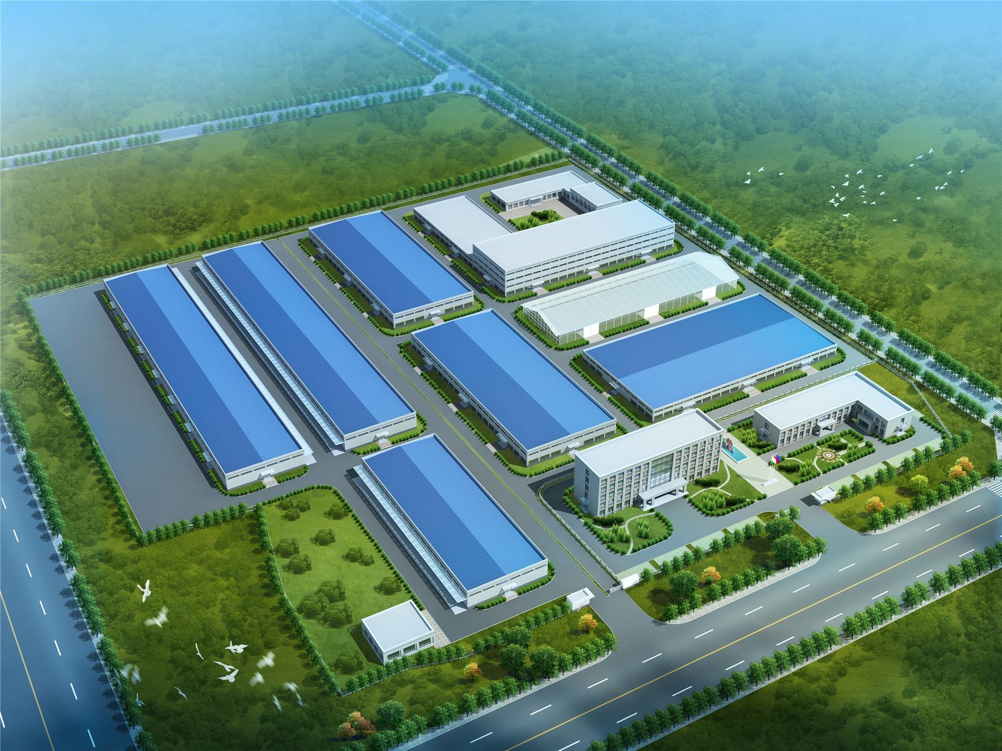 陕西天谷年产8000吨中药材加工与物流体系建设项目厂区