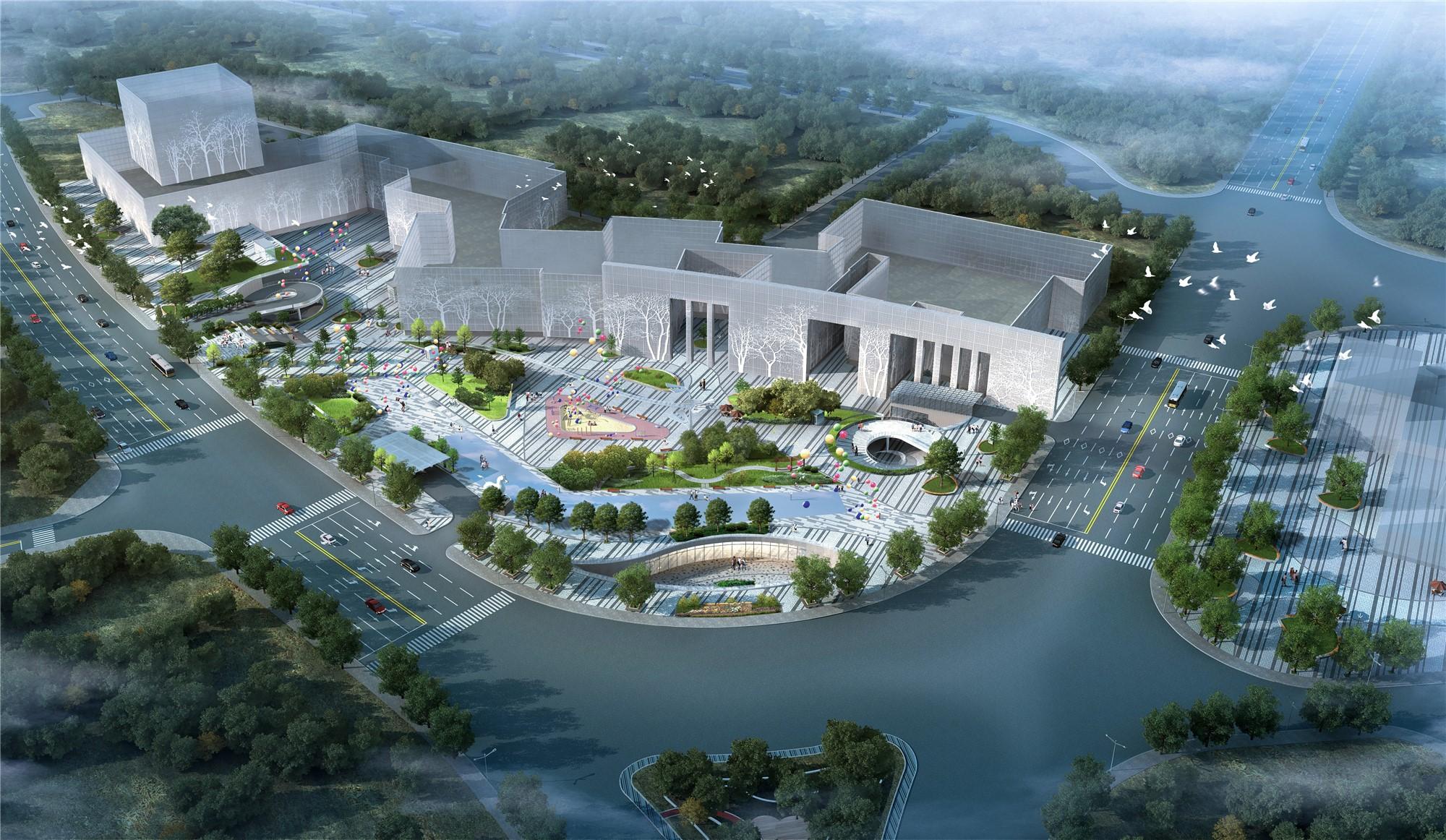 天水市天河广场景观设计
