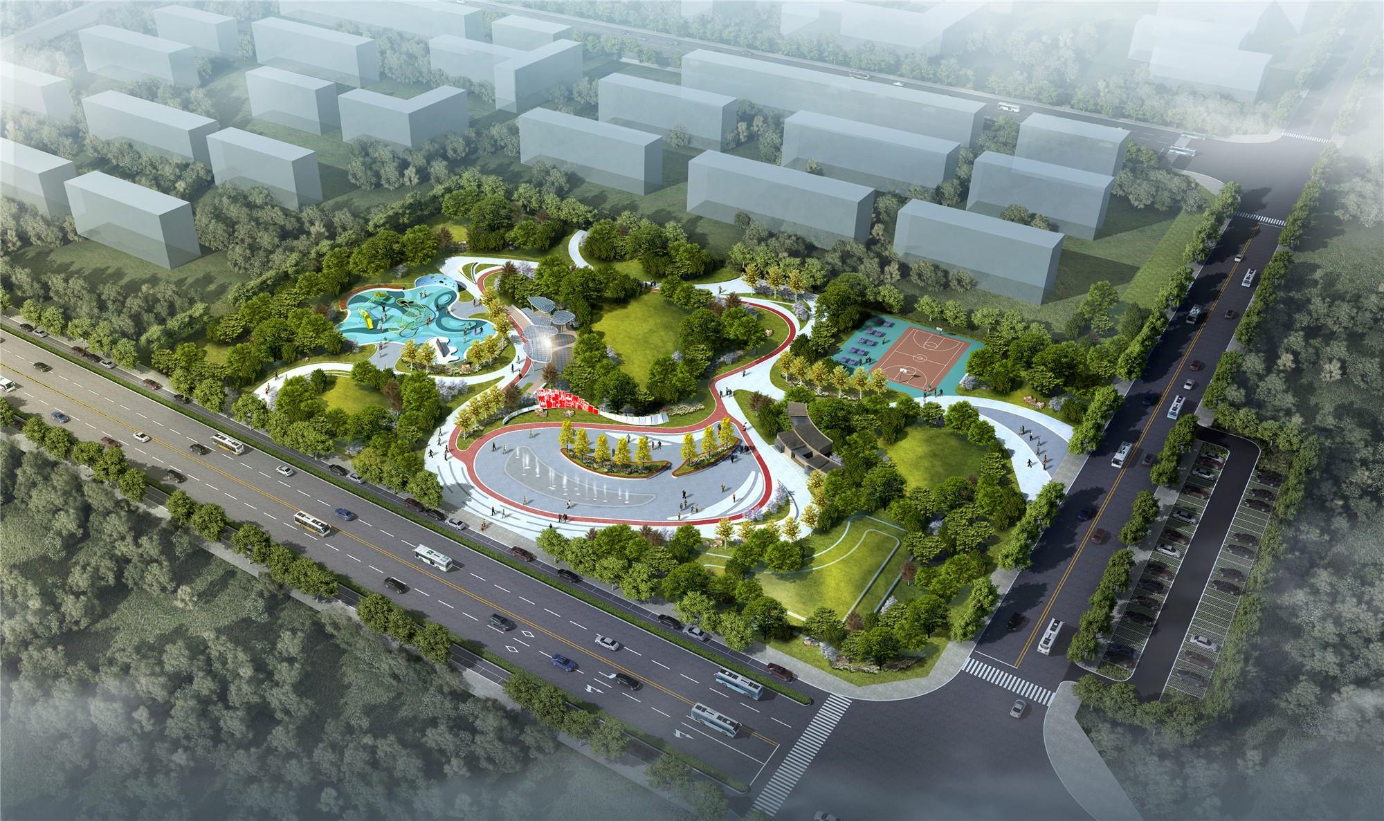 阎良绿地公园景观设计