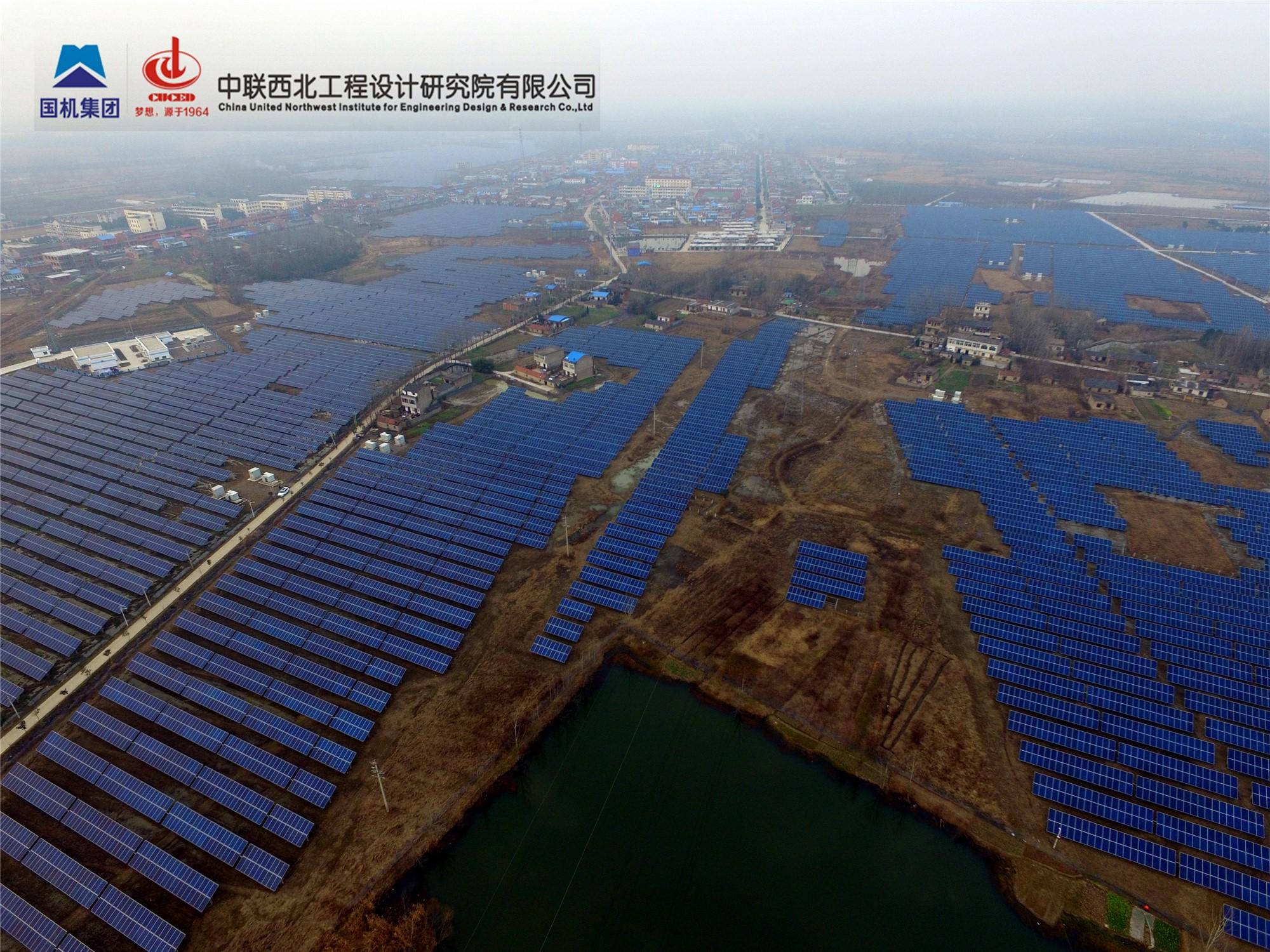合肥市长丰县19.8MWp分布式光伏发电项目