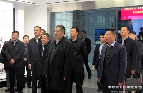 国机集团党委书记、董事长张晓仑莅临BOBapp体育下载西北院调研指导