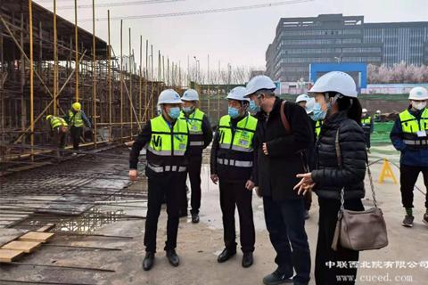 中国联合工程有限公司检查组莅临检查安全生产工作